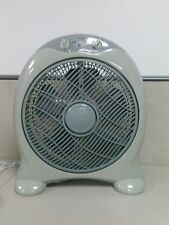 "12"" Round Top Box Fan 3 Speed Control with 60 Min Timer"