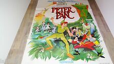 PETER PAN ! affiche cinema  animation bd  disney 60