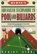 Byrne's Advanced Technique in Pool and Billiards by Robert Byrne (1990, Paperba…
