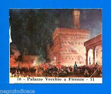 CENTENARIO UNITA D'ITALIA - Figurina-Sticker n. 70-71 - PALAZZO VECCHIO -Rec