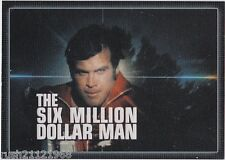 THE COMPLETE BIONIC COLLECTION P2 BINDER EXCLUSIVE PROMO SIX MILLION DOLLAR MAN