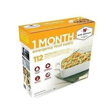 Emergency Food Supply Freeze Dried Wise 1-Month Rations Survival Storage Kit New