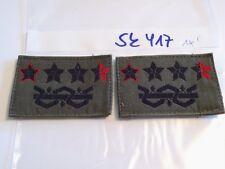 Italia armabzeichen generale nero-rosso a verde oliva 1 PAIA (sk417)