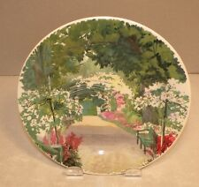 New Bread & Butter Plate, Grande Allée Giverny, Paris a Giverny Pattern GIEN NEW