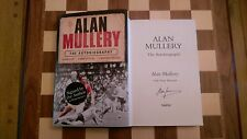 Alan Mullery Autobiography SIGNED Alan Mullery 2006 1st edition 1st impression