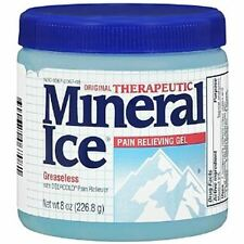 Mineral Ice Pain Relieving Gel 8 oz (Pack of 4)