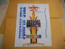 JUMP IN JACK JUMPIN   ARCADE   GAME  FLYER