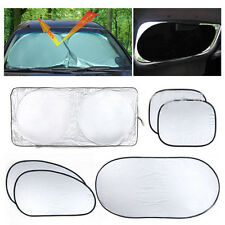 6pcs/Set Auto Front Rear Side Window Sun Shade Car Windshield Visor Cover Block