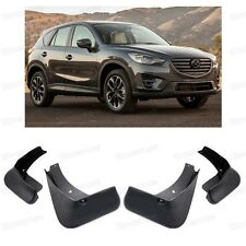 Front & Rear Car Mud Flaps Splash Guard Mudguard for Mazda CX-5 2013-2016 14 15