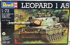 Revell 1/72 scale Leopard 1 A5 German Cold War Army Military Armor Model Kit