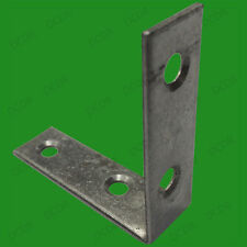 "10x 50mm (2"") Corner Braces, No. 319 Right Angle Support Fixing Repair Brackets"