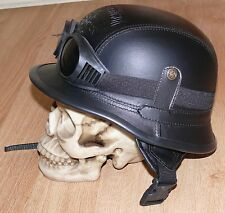 Quality costume German WW2 Nazi M42 Motorcycle Style  Helmet size M with goggles