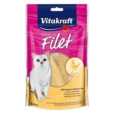 Vitakraft Katzenfutter Premium Filet Huhn - 70 g - Snack Leckerli Hühnchen Katze