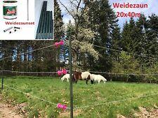 Clôture Clôture electrique Plastique vert PVC Clôture de l'enclos Weidezaun