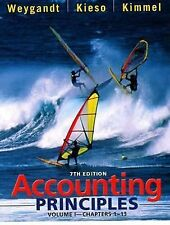Accounting Principles, Chapters 1-13 7th Edition, Volume I by Donald E....