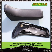 FOAM SEAT for 125cc 250cc Thumpstar Apollo Atomik Orion Dirt Pit Bike BLACK AU