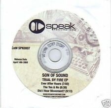 (I152) Son Of Sound, Trial By Fire EP - DJ CD