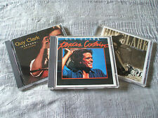 Lot of 3 x Guy Clark USA Sugar Hill CDs Texas Cookin/Keepers/Cold Dog EX+/NM