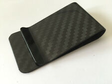 100% Carbon Fiber Money Clip Holder Business Credit Card Cash Wallet