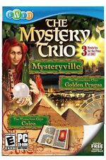 NEW The Mystery Trio 3 in 1 PC Video Game Mysterious City Golden Prague Cairo
