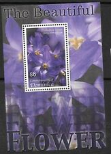 DOMINICA SGMS3424c 2005 FLOWERS  MNH