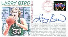 COVERSCAPE computer designed 25th anniversary Larry Bird free throw streak cover