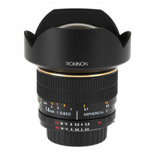 ROKINON 14mm F2.8 IF ED Super Wide-Angle Lens for Canon