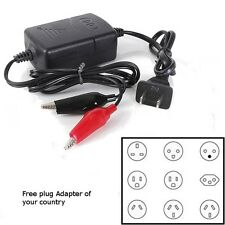 12V Sealed Lead Acid Auto Car Motorcycle Battery Charger Rechargeable Maintainer