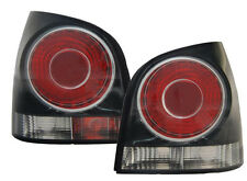 Red black finish tail lights rear lights for VW Polo 9N3 05-09