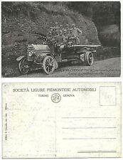 LE AUTOBATTERIE SPA - Artiglieria Ansaldo - Carro munizione-scorta - Primo piano