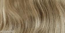Classic Soft Wavy Shoulder Length Hair Skin Top Blonde Grey Brunette Red  Wigs