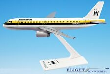 Monarch British Airline (84-02) A320-200 Airplane Miniature Model Plastic Snap-F