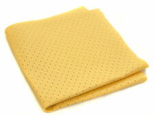 24XLarge Chamois PERFORATED SYNTHETIC Cloths Car Drying Shammy Leather Absorbent