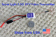 Ultra Mini Light Video Transmitter 5.8G 200mw w/ Clover Leaf Surveillance FPV