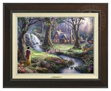 Disney's Snow White - Thomas Kinkade Canvas Classic (Espresso Frame)