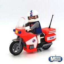 playmobil® Krankenhaus Rettung Notarzt | Arzt | Sanitäter auf Motorrad 3924
