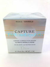DIOR CAPTURE R60/80 Ultimate Wrinkle Cream CHRISTIAN DIOR 1.7oz LIGHT-Texture 83
