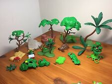 Playmobil árboles forestales Plantas Flores para Granja, Zoo, estable, Train Set, casa de muñecas)