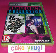 KANE & LYNCH COLLECTION XBOX 360 NEUF SOUS BLISTER VERSION 100% FRANCAISE