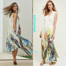 NWT XS Anthropologie Watergarden Beach Maxi Dress By Swim Cover Up Sold Out