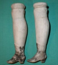 antique legs Biedermeier / unglazed 3.1""