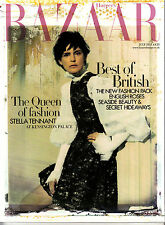 HARPER'S BAZAAR 07/2013 BEST OF BRITISH Stella Tennant MARLOES HORST @New@