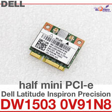 Wi-Fi WLAN WIRELESS CARD NETZWERKKARTE DELL MINI PCI-E DW1503 0V91N8 NEW NEU D31