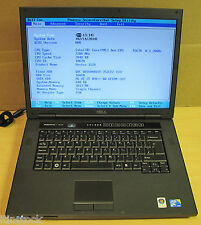"Dell Vostro 1520 de 15,4 ""Wxga Laptop Core 2 Duo 2.20 ghz 2gb Ram 160gb Hdd"