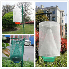 Kitchen Green Fly Bug Insect Wasp Killer Clear Net Flytrap Pest Catcher Trap Bag