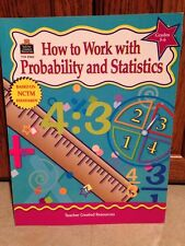 NEW How To Work With Probability and Statistics Grades 5-6 Teacher Resource Book