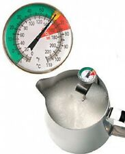 45x130mm Stainless steel Milk dial Thermometer - for perfect frothing