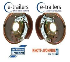 BOLT ON BACKPLATE GENUINE KNOTT LEFT+RIGHT 200x50 BRAKE IFOR WILLIAMS BACK PLATE