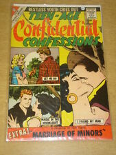 TEEN-AGE CONFIDENTIAL CONFESSIONS #2 FN- (5.5) CHARLTON COMICS SEPTEMBER 1960