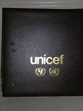 1980s UNICEF flags of the United Nations books